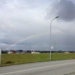 Welcoming rainbow