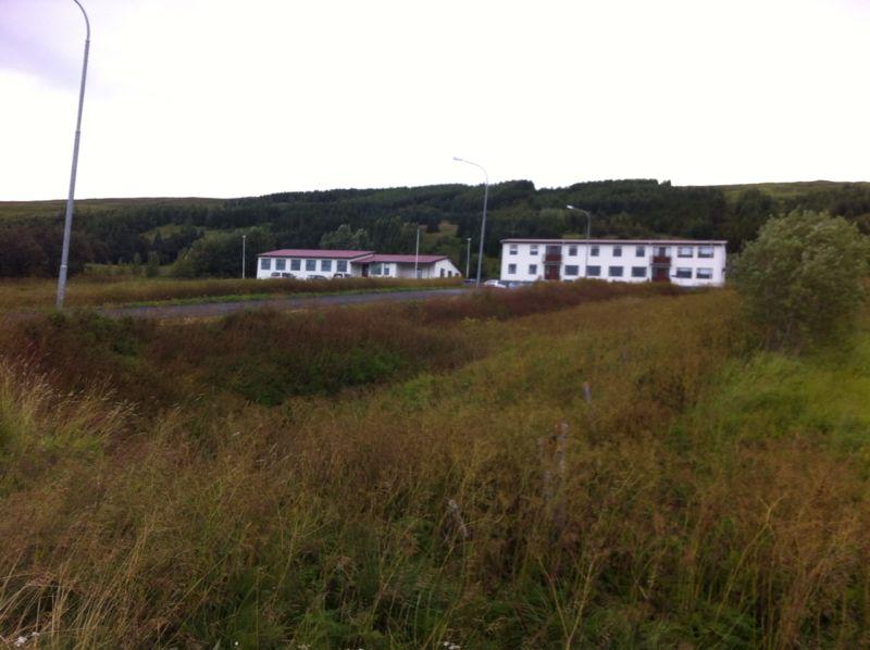 Primary school (right) and kindergarten (left)