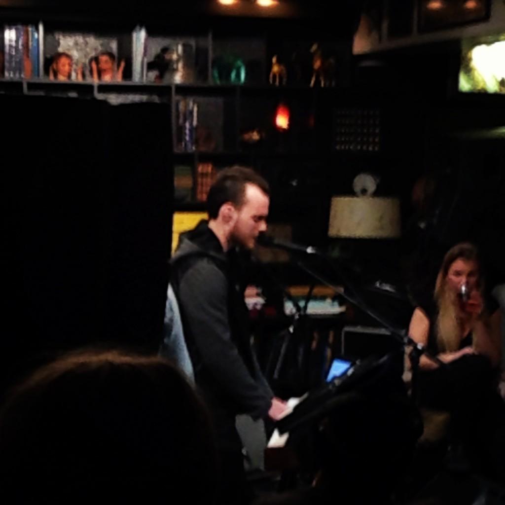 Ásgeir Trausti at Airwaves, so good times!