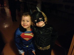 Superman and Batman - Cutest version :)