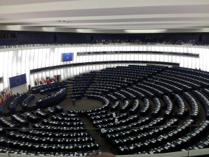 European parlament, inside.