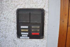 My doorbell.