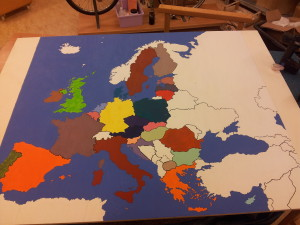 And done, all countries not in the EU are white.