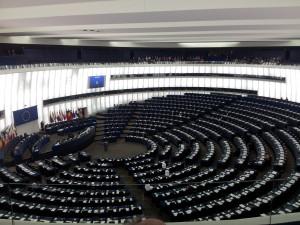 European parlament, inside.